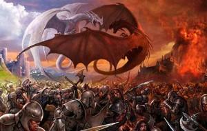 dragons-battling-each-other-and-alonside-men