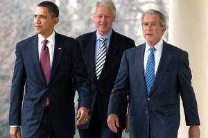 Bush-Obama-Clinton